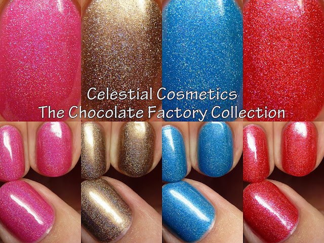 Celestial Cosmetics The Chocolate Factory Collection