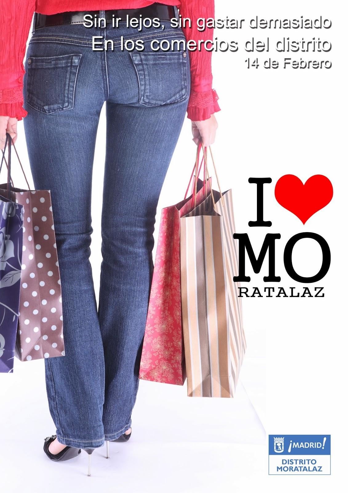 14 de febrero en los comercios de Moratalaz.