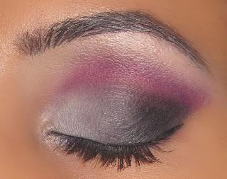 mac, purple, grey, white, black, smokey, beauty, makeup, smokey, eyeshadow, blog, tutorial, sleek, ultra matte, v2, pallette