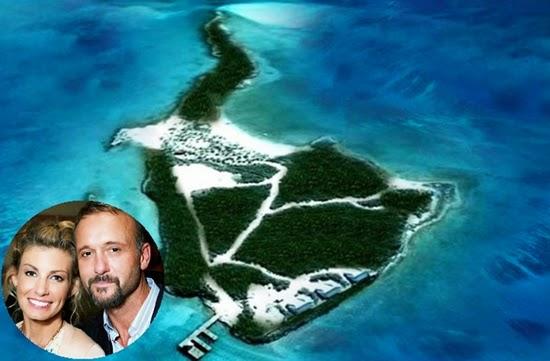 faith hill dan tim mcgraw : selebriti yang memiliki pulau pribadi