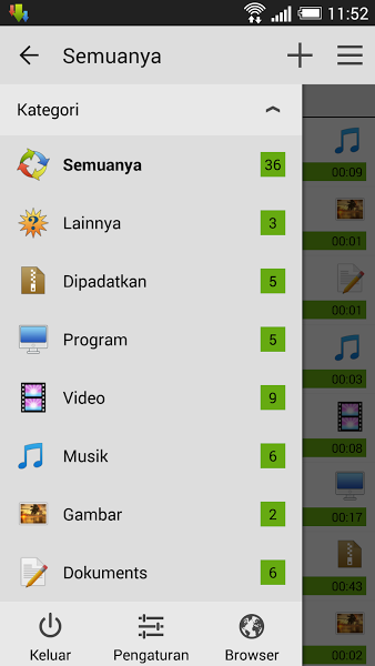 Advanced Download Manager Aplikasi Percepat download di Android