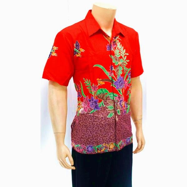 Pakaian Pria Kemeja Batik