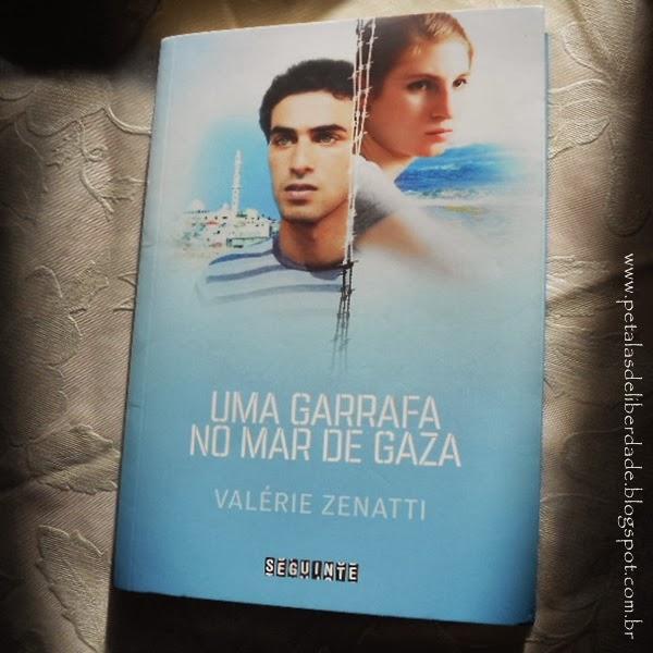 livro,  Uma Garrafa no Mar de Gaza, Valérie Zenatti