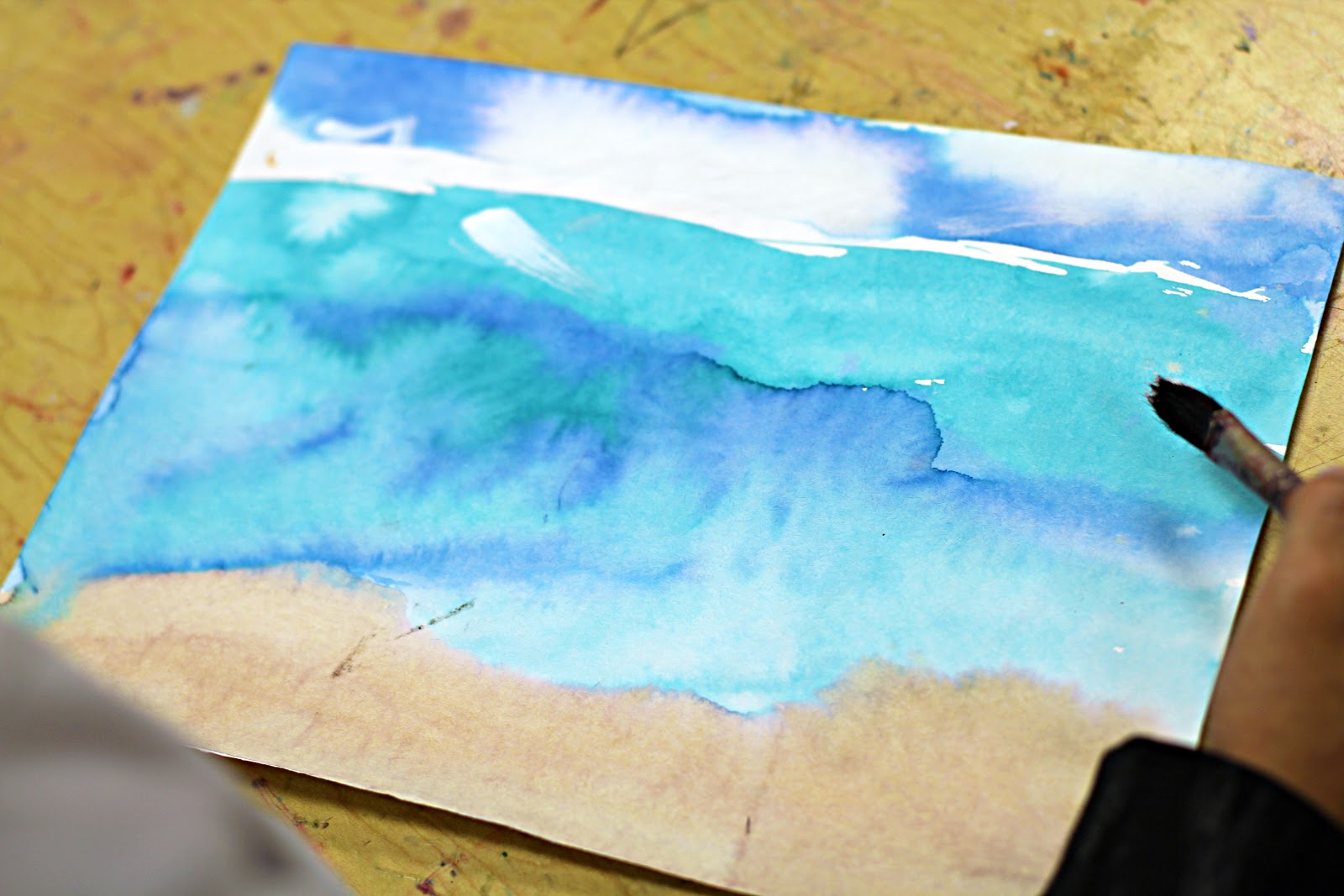 Smart class seascapes for Painting projects