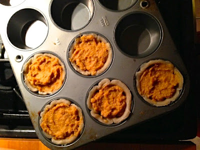 Unbaked pies