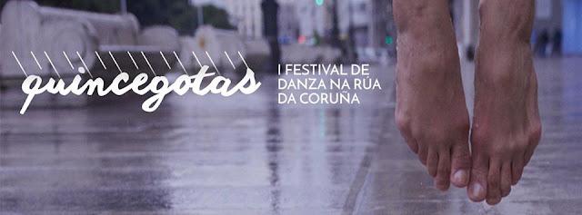 Quincegotas. I Festival de Danza na rúa da Coruña.