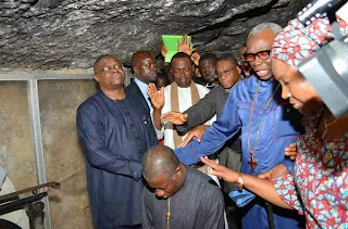 Photonews: Ayo Oritsejafor, Others, Lay Hands On President Goodluck Jonathan In Israel (LOOK)