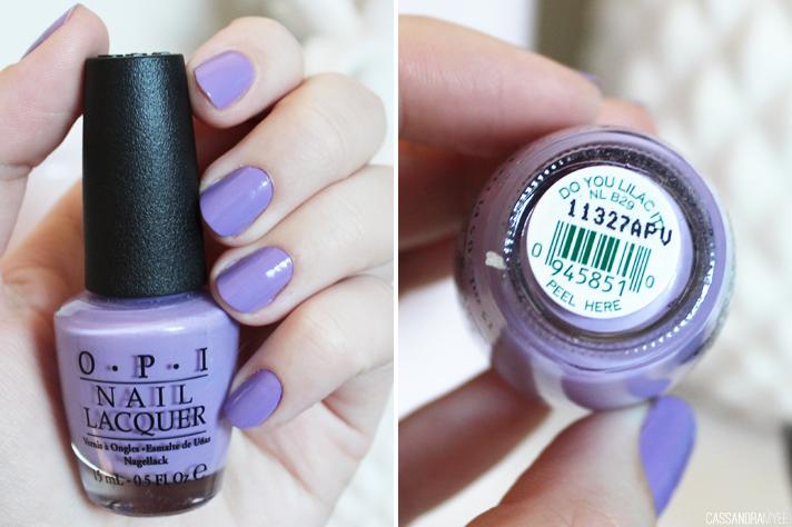 NOTD // OPI Do You Lilac It? - CassandraMyee
