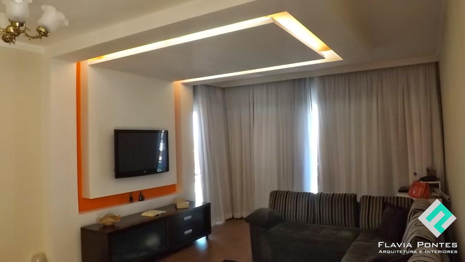 Flavia pontes arquitetura for Sala de estar 5x4