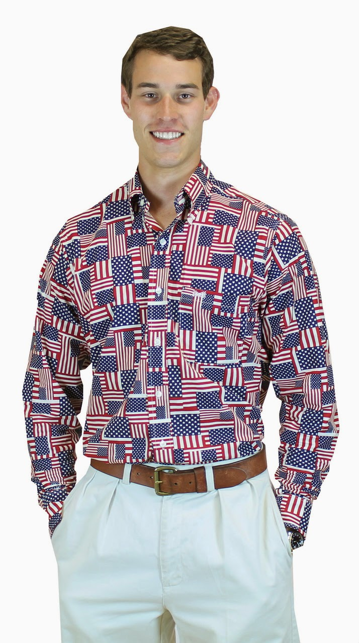 The fraternity collection american flag sport shirt for American apparel sorority shirts