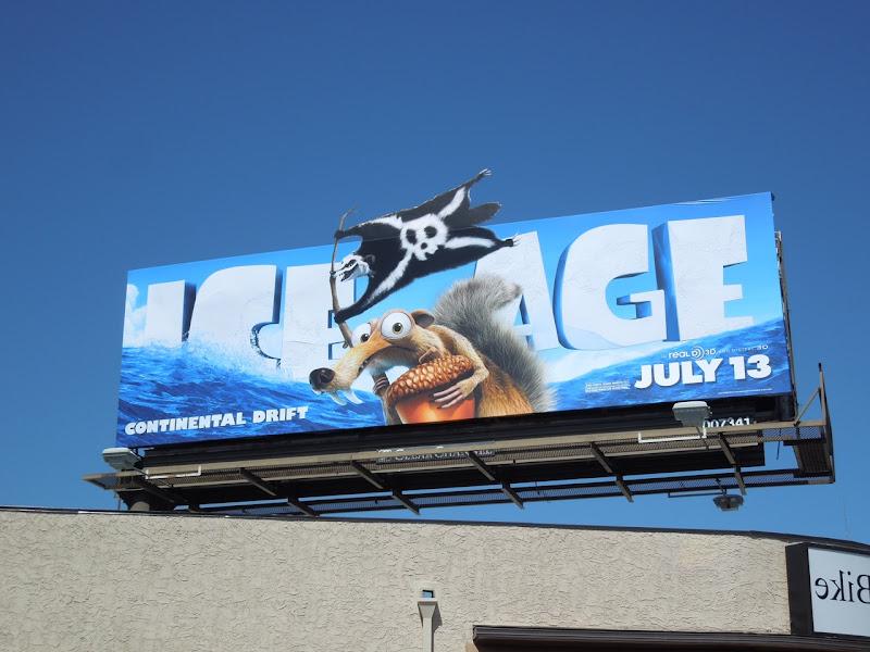 Ice Age 4 Continental Drift billboard