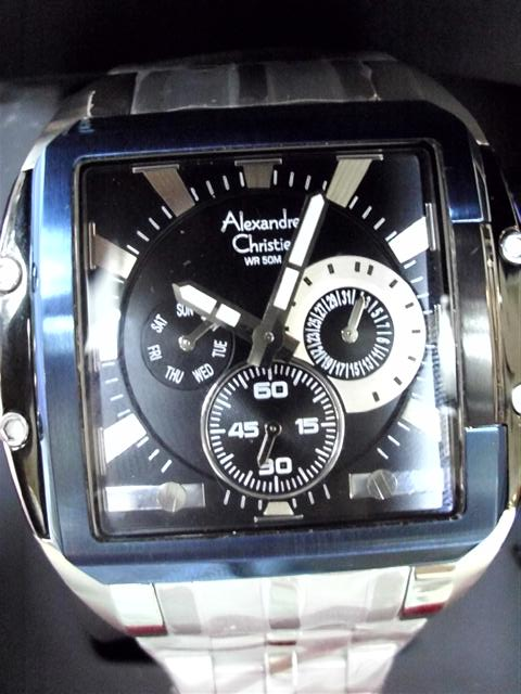 Jam Tangan Original Alexandre Christie 6165MFB Box Package