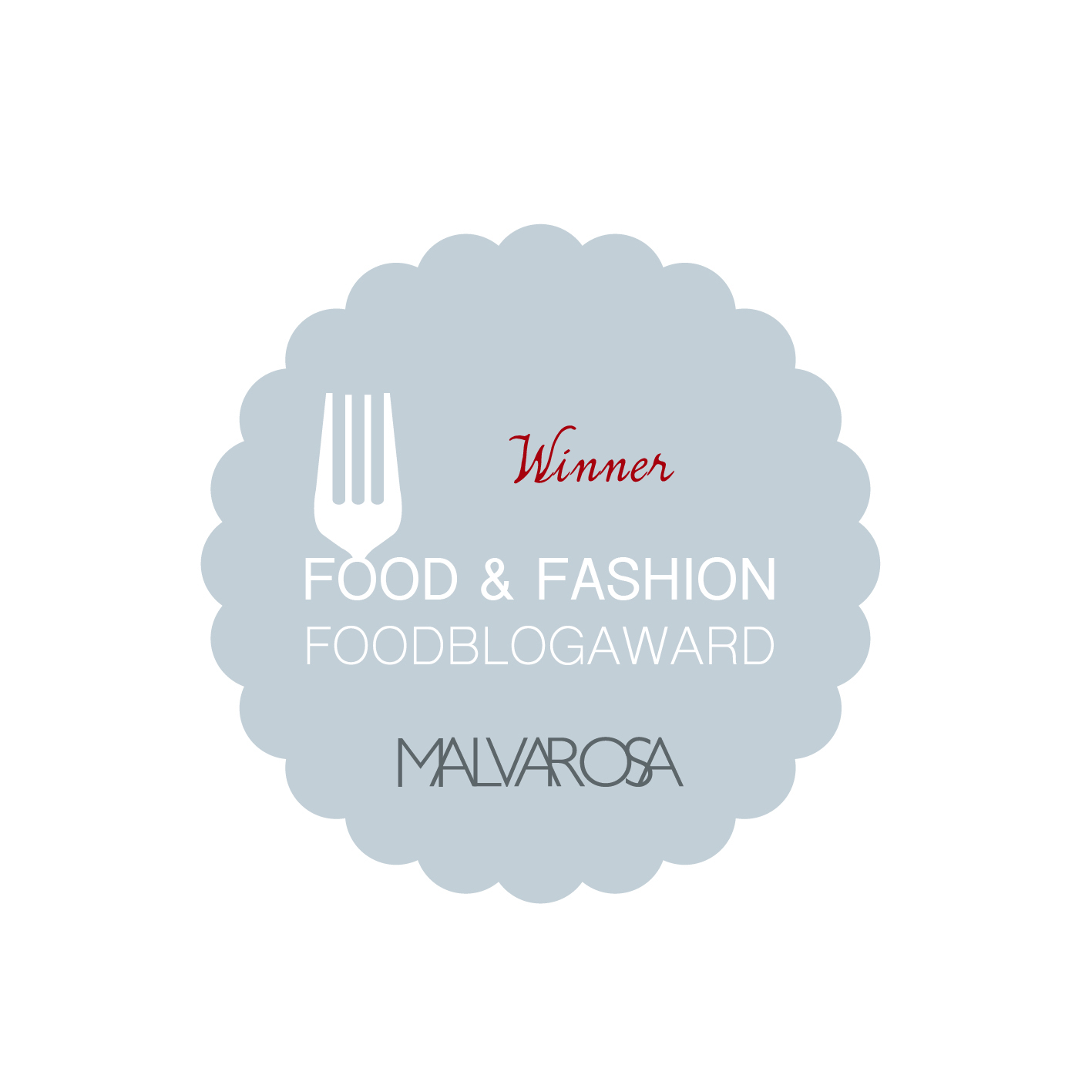 Winner of the Food Blog Award 2016 Food & Fashion Category