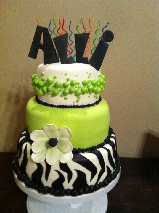 Sweet Escape Allis 12th Birthday Cake