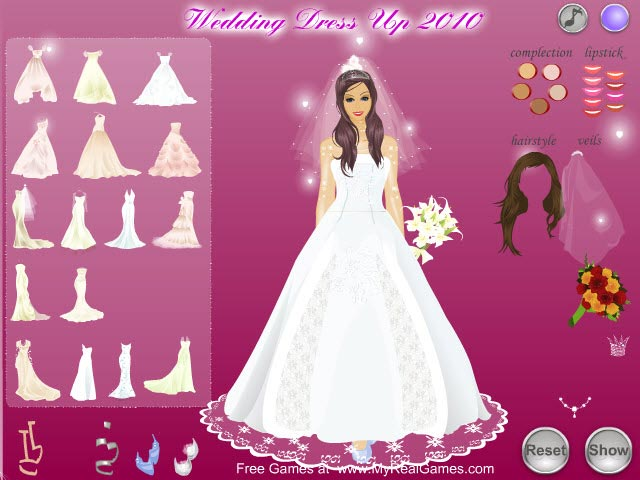 Wedding Dress Up 2010 Free Download | A To Z Games Download