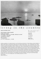 Richard Müller: Einladung Galerie Schedler Zürich