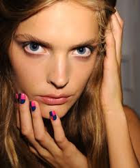 nicole miller spring 2012 nails designs