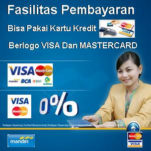 Bisa Pakai Credit Card
