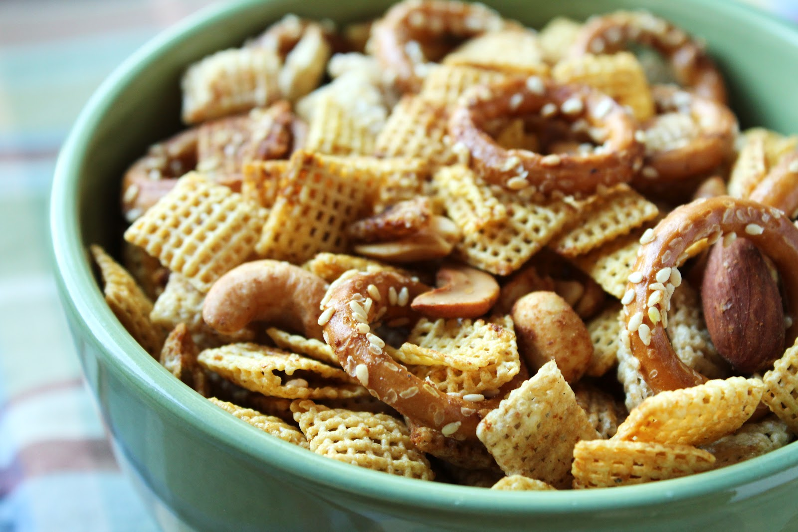 Chex Mix can easily be made gluten-free by using Corn and Rice Chex ...