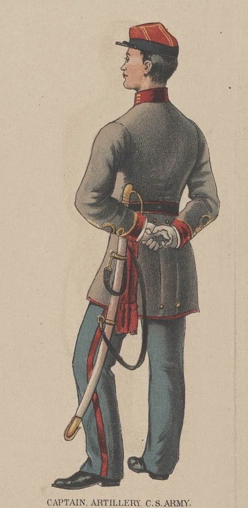 Confederate Captain of Artillery