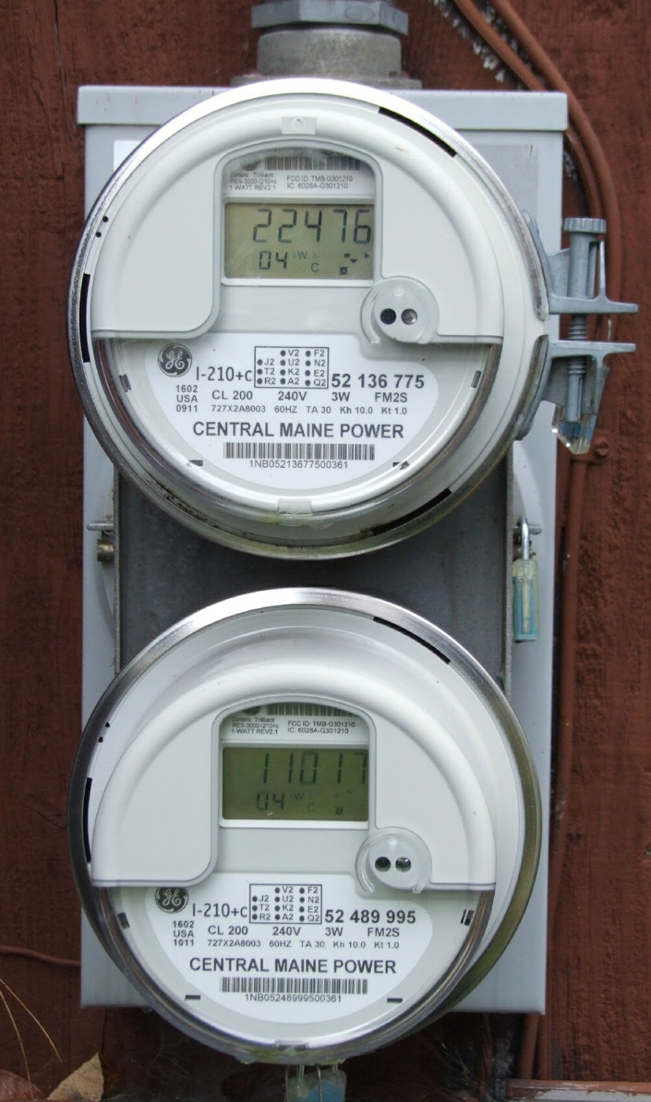 Secondary Electric Meter : Living in the shadow of climate change renewable energy