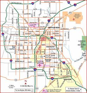 Metro Map of Las Vegas 2