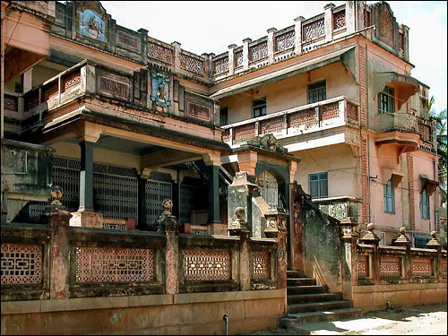 Old Bungalows Houses In Indian Villages