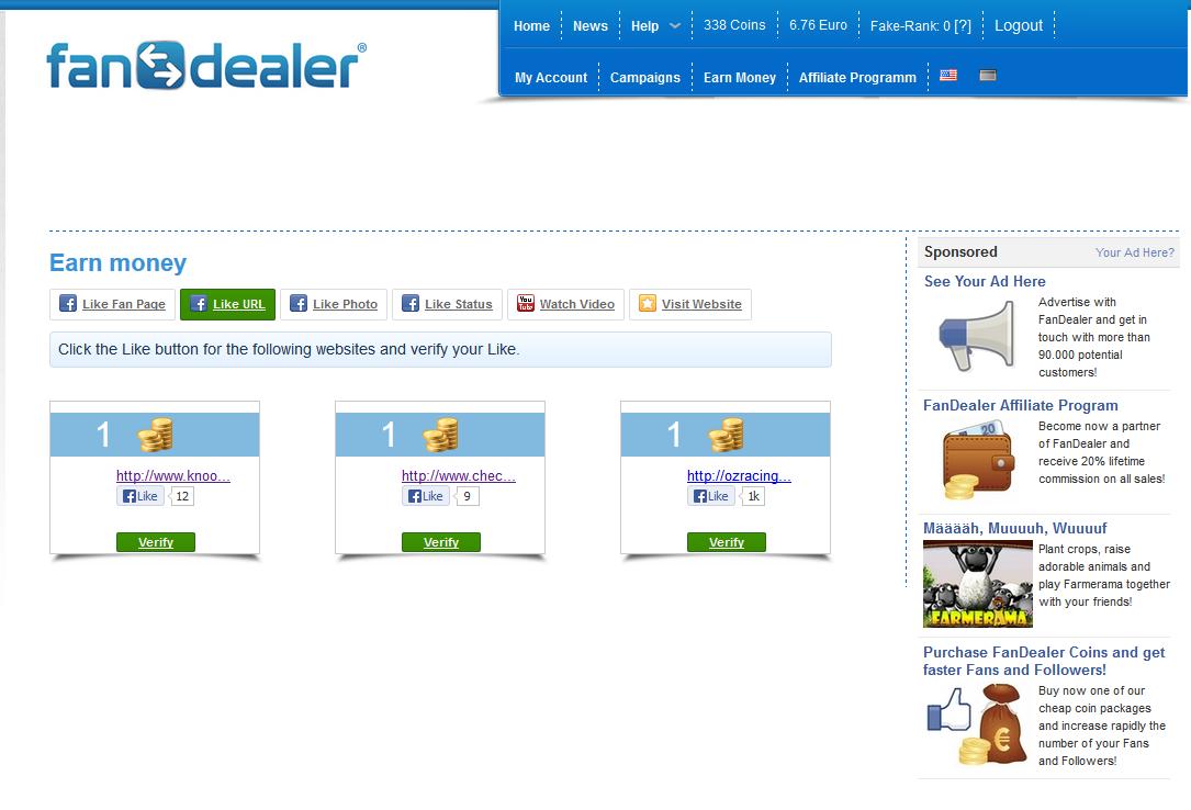 Ganar dinero con las redes sociales - Fan Dealer