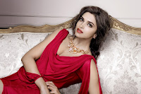 hot Deepika Padukons, Pictures, Tanishq, Jewelers, red dress, jewellery, magazine cover, thigh show