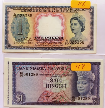 Malaysia 1st Series RM1
