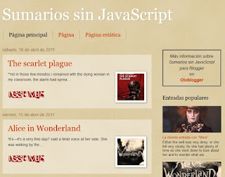 Sumarios sin JavaScript