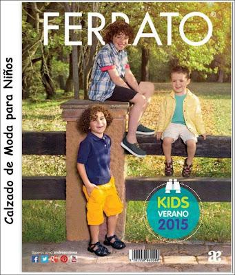 Ferrato Kids calzado de niños Verano 2015