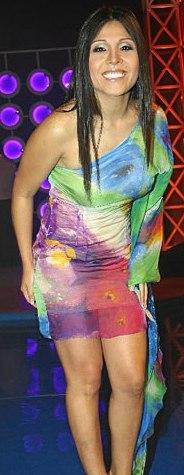 """Tula Rodríguez en su programa """"Mega Show"""""""