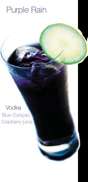 Specs Atascocita Purple Wedding Cocktails