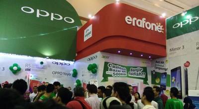 OPPO Tutup Mega Bazaar 2015 Dengan Manisnya Penjualan R5