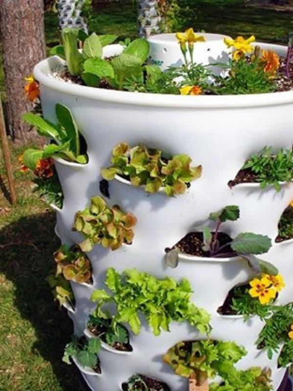 Ideas para reciclar hay objetos que pueden ser usados en - Material para jardin ...