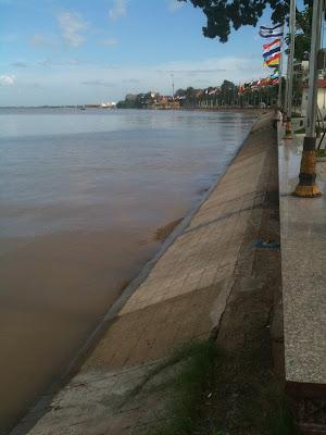 Phnom Penh riverfront, Cambodia, Sept 17, 2011