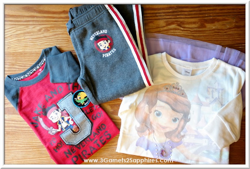Kohl's Disney Jumping Beans #MagicAtPlay Sofia and Jake Fall Fashions  |  www.3Garnets2Sapphires.com