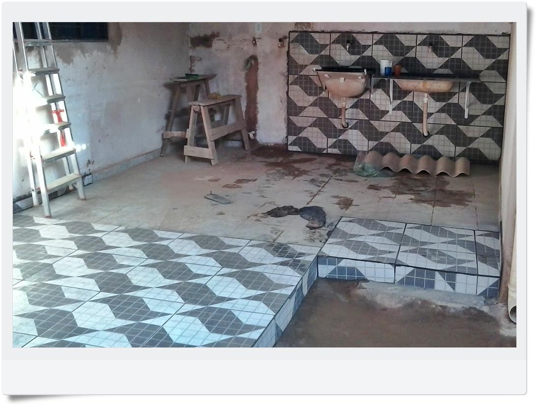 AKSSERVIÇOS: Instalação Hidraúlica na área de serviço/Joseilda #506D7B 1093 825