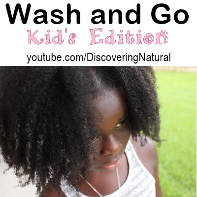 Wash and Go for Natural Hair Kids