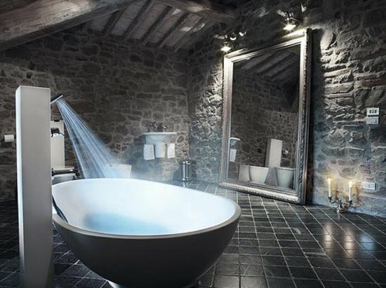Decorar Un Baño Gris:Si busca ideas para decorar baños en color gris, hoy le proponemos