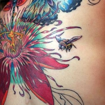 cute lower back tattoos for girls