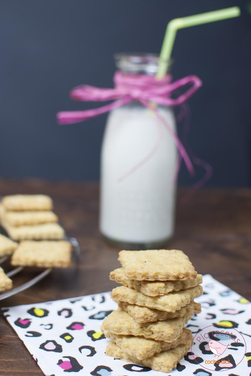 galletas veganas sin huevo y sin leche