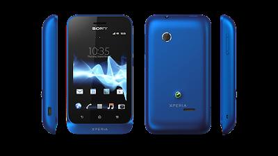 Sony Xperia tipo Navy Blue
