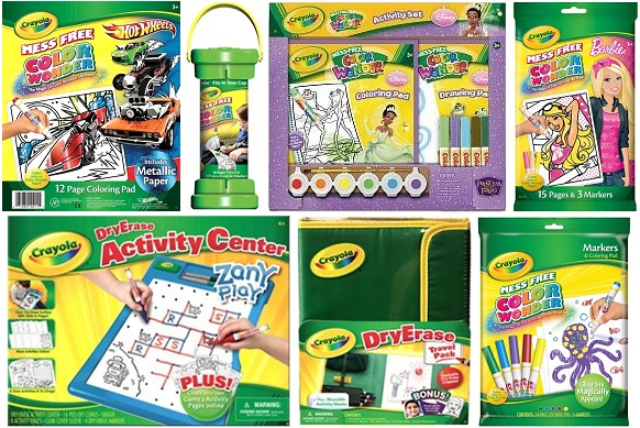 Thanks, Mail Carrier | Be Travel Ready with Crayola Color Wonder and ...