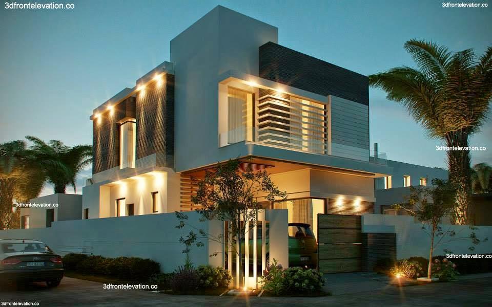 10 Marla Corner House Plan 3D Front Elevation Design Images In ...
