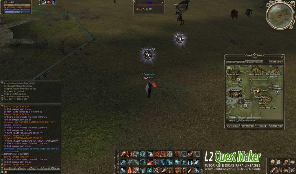 Lineage 2 - An Arrogant search (Baium Quest) - YouTube