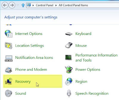 Computer Tips: WIndows 8 tips Create Bootable System Recovery USB Drive in WIndows 8