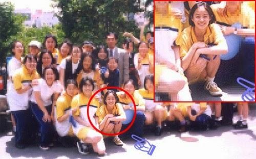 Kim-Tae-Hee-school