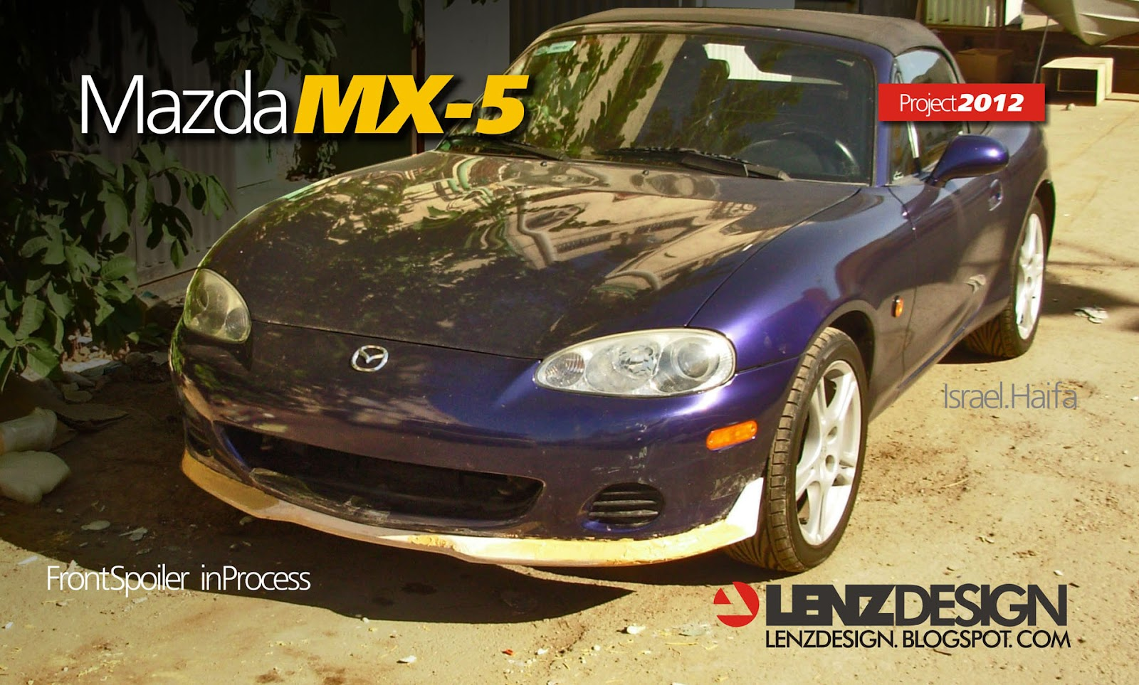 mazda mx 5 body kit lenzdesign performance. Black Bedroom Furniture Sets. Home Design Ideas